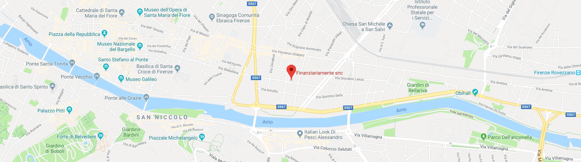 Finanziariamente – Google Map
